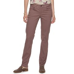 Women's SONOMA Goods for Life™ Straight-Leg Sateen Pants
