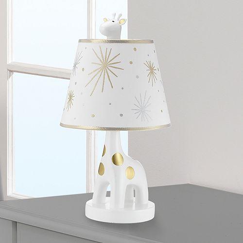 Lambs & Ivy Moonbeams Giraffe & Star Lamp