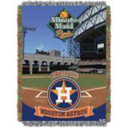 Houston Astros Park Stadium Throw Blanket
