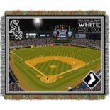 Chicago White Sox Park Stadium Throw Blanket