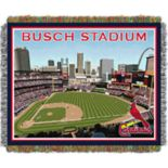 St. Louis Cardinals Park Stadium Throw Blanket