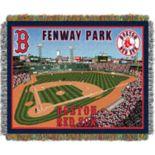 Boston Red Sox Park Stadium Throw Blanket