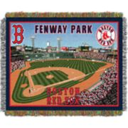 Boston Red Sox Park Stadium Throw Blanket