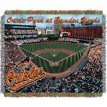 Baltimore Orioles Park Stadium Throw Blanket