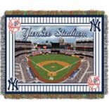 New York Yankees Park Stadium Throw Blanket