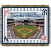 New York Yankees Park Stadium Throw Blanket