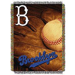 Los Angeles Dodgers Vintage Throw Blanket