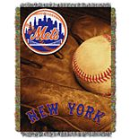 New York Mets Vintage Throw Blanket