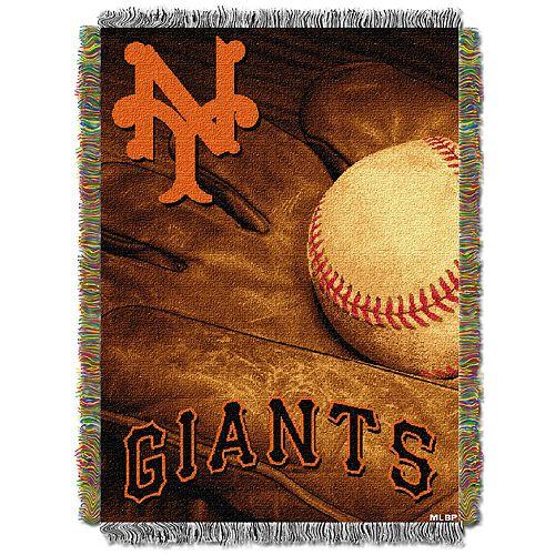 San Francisco Giants Vintage Throw Blanket