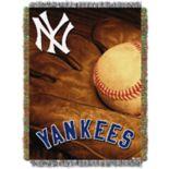 New York Yankees Vintage Throw Blanket