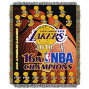 Los Angeles Lakers Commemorative Series Throw Blanket