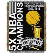 San Antonio Spurs Commemorative Series Throw Blanket