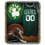 Boston Celtics Vintage Throw Blanket