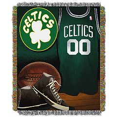 Boston Celtics Vintage Throw Blanket