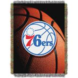 Philadelphia 76ers Logo Throw Blanket