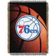 Philadelphia 76ers Logo Throw Blanket