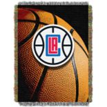 Los Angeles Clippers Logo Throw Blanket