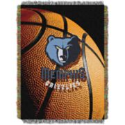Memphis Grizzlies Logo Throw Blanket