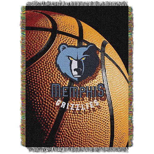 Memphis Grizzlies Logo Throw Blanket