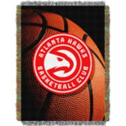 Atlanta Hawks Logo Throw Blanket