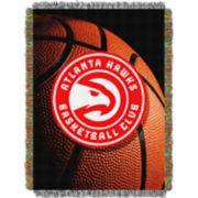 Atlanta Hawks Logo Throw Blanket