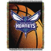 Charlotte Hornets Logo Throw Blanket