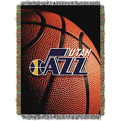 Utah Jazz Logo Throw Blanket