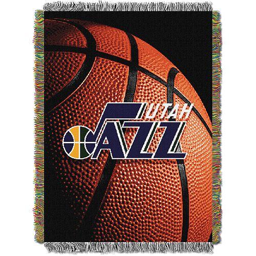 Utah Jazz Logo Throw Blanket