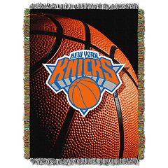 New York Knicks Logo Throw Blanket