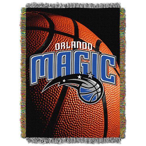 Orlando Magic Logo Throw Blanket