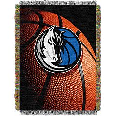Dallas Mavericks Logo Throw Blanket