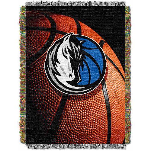 Dallas Mavericks Logo Throw Blanket