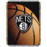 Brooklyn Nets Logo Throw Blanket