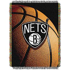 Brooklyn Nets Logo Throw Blanket