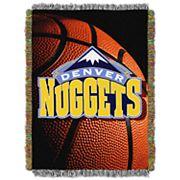 Denver Nuggets Logo Throw Blanket