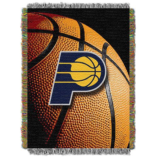 Indiana Pacers Logo Throw Blanket