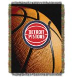 Detroit Pistons Logo Throw Blanket