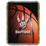 Toronto Raptors Logo Throw Blanket