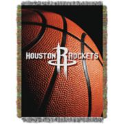 Houston Rockets Logo Throw Blanket