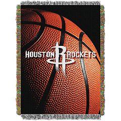 Houston Rockets Logo Throw Blanket