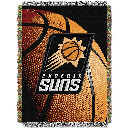 Phoenix Suns Logo Throw Blanket