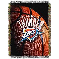 Oklahoma City Thunder Logo Throw Blanket