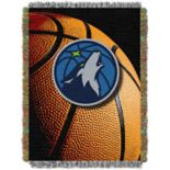Minnesota Timberwolves Logo Throw Blanket