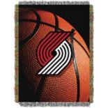 Portland Trail Blazers Logo Throw Blanket