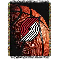 Portland Trail Blazers Logo Throw Blanket