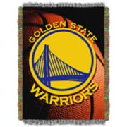 Golden State Warriors Logo Throw Blanket