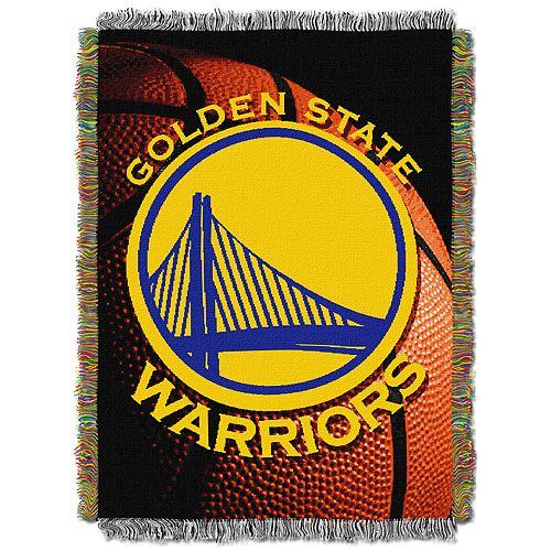 Golden State Warriors Logo Throw Blanket