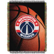 Washington Wizards Logo Throw Blanket