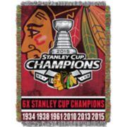 Chicago Blackhawks Commemorative Series Throw Blanket