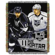 Los Angeles Kings Anže Kopitar Throw Blanket